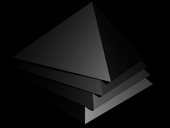 Black & White Graphic Logo Logo Design Minimalist Abstract Black And White Blackandwhite Design Fine Art Geometric Graphic_arts_bnw Graphicdesign Illumination Minimal Minimalism Triangle Triangle Shape