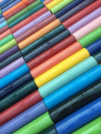 Multi Colored In A Row Backgrounds Colorful