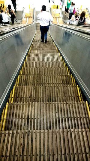 Urban 4 Filter Sydneycbd Train Station Escalators Heritage Wynyard Otis Heritage escalators @York St end of Wynyard Station