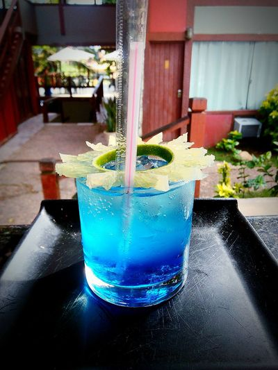 Lagoa Azul Vodka Curaçau Blue Soda Limona Gelo E Limão EyeEm Selects Tonic Water Water Drinking Glass Cocktail Mojito Alcohol Ice Cube Table Drinking Straw First Eyeem Photo