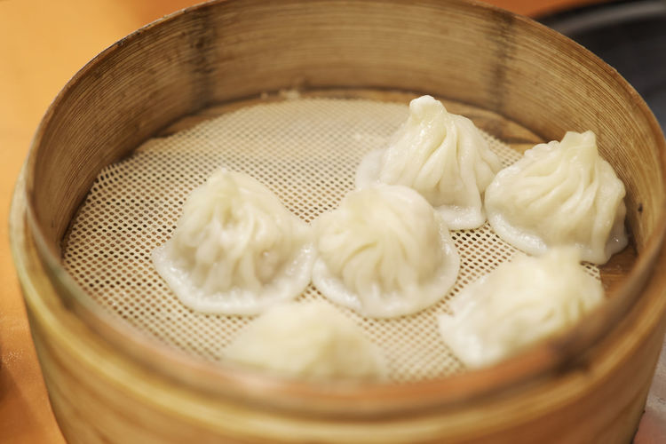 Close-Up Of Dumplings