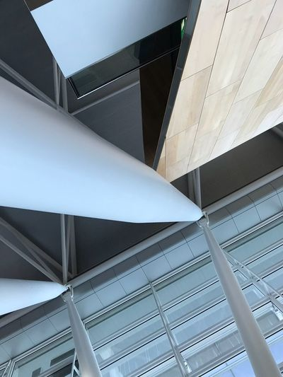 Architecture Modern Built Structure Low Angle View Ceiling No People Building Exterior Indoors  Day City