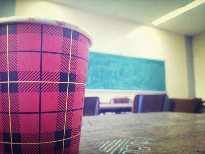 En Classe Cafe.. ! Froid ...