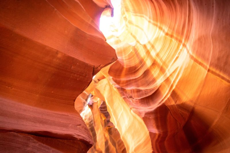 Another picture that I've captured during our antelope tour. So happy I had my canon with me. And grateful that my wife found this spot even if it was not planed 😃 Canyon West Coast Trip USA Antelope Canyon Rock Formation Travel Non-urban Scene Rock - Object Geology Rock 17.62°
