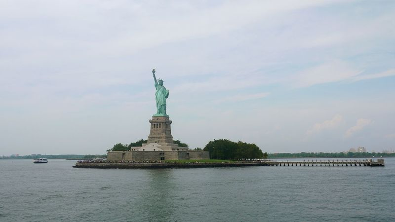 New York Statue Of Liberty The Lady Hudson River Ellis Island  I Heart New York