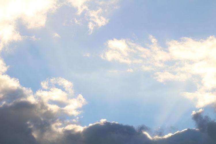 Blue Sky Bluesky Cloud Clouds And Sky Darkness And Light Majestic' Outdoors Sky Scenes Winter Sky