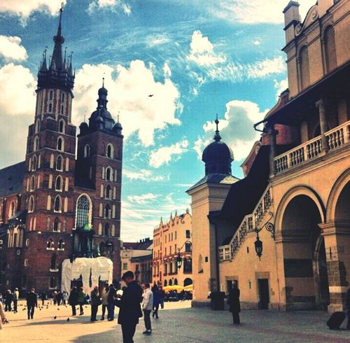 Krakow,Poland Best Place To Be School Trip One Month Ago.