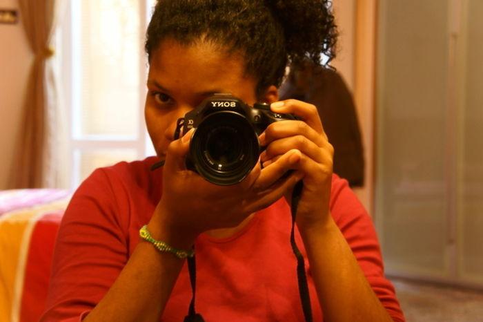 Sonycamera Sonya3000 Self Portrait