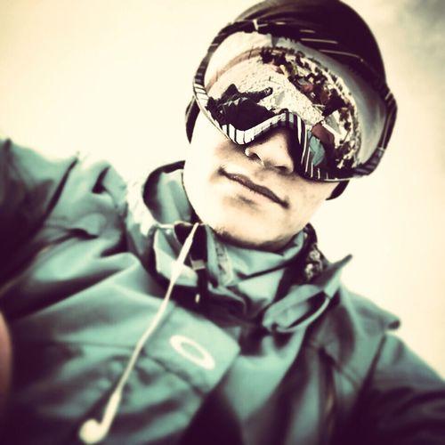Snowboarding Hi! That's Me Selfportrait Selfie Snow ❄ Powderdays Taking Photos
