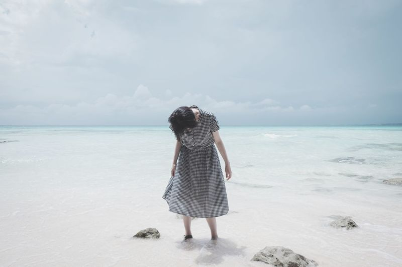 EyeEm Best Shots EyeEmNewHere EyeEm Nature Lover EyeEm Gallery EyeEm Selects Nature Japan Women Okinawa Miyakojima Sky Full Length Sea Beach Water Sand Young Women Standing Summer Rear View Wave The Fashion Photographer - 2018 EyeEm Awards The Portraitist - 2018 EyeEm Awards The Great Outdoors - 2018 EyeEm Awards The Traveler - 2018 EyeEm Awards The Creative - 2018 EyeEm Awards A New Perspective On Life Holiday Moments 2018 In One Photograph My Best Photo