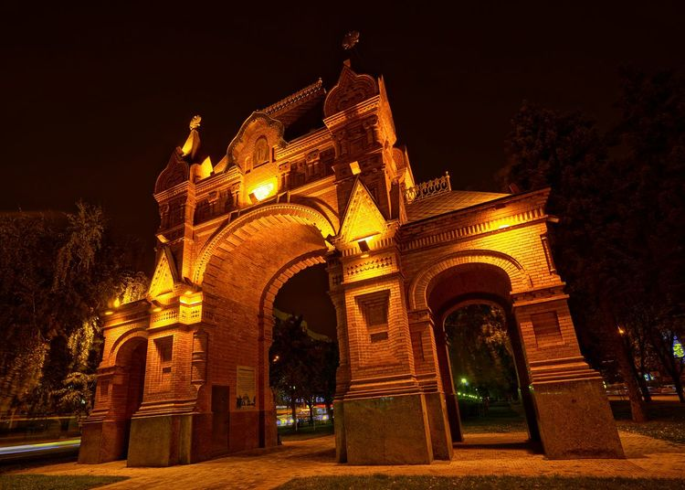 Long Exposure History Night Architecture Illuminated Built Structure Arch Travel Destinations City Outdoors No People HUAWEI Photo Award: After Dark