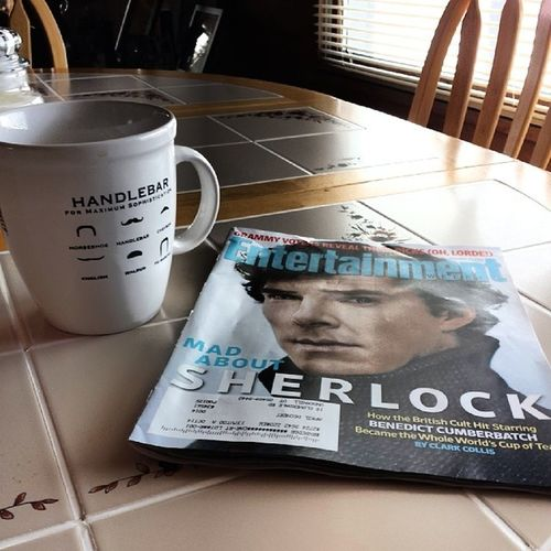 Coffee and Benedict. Perfect. Sherlocked Coffee Instagood Lazysaturday