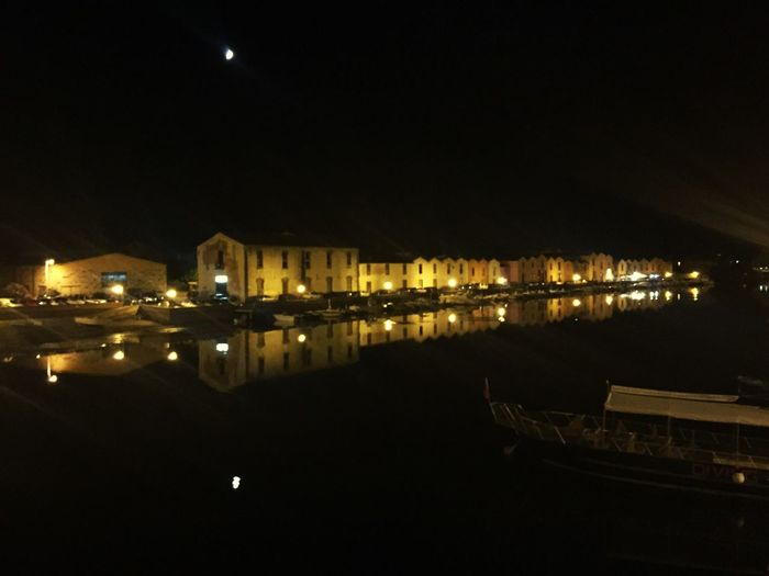 Holidays in Sardinia Sardegna Italy  Bosa by Night