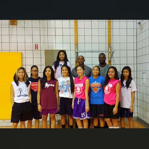Always looking forward to our practices with our new trainers. Teamgetbetter Nyfab Pinklemonade