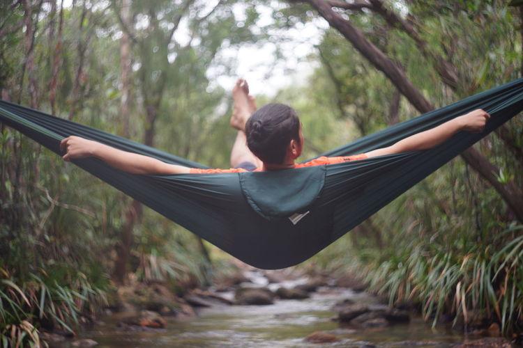A man Relaxing