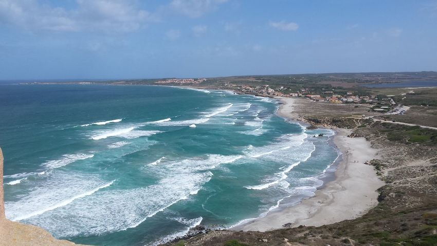Sardegna Water Sea Beach Tranquil Scene Surf Beauty In Nature Nature Sky Tranquility Wave Blue