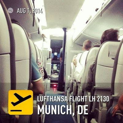 Ready for takeoff. Lufthansa Flyingdrs Upintheair ✈