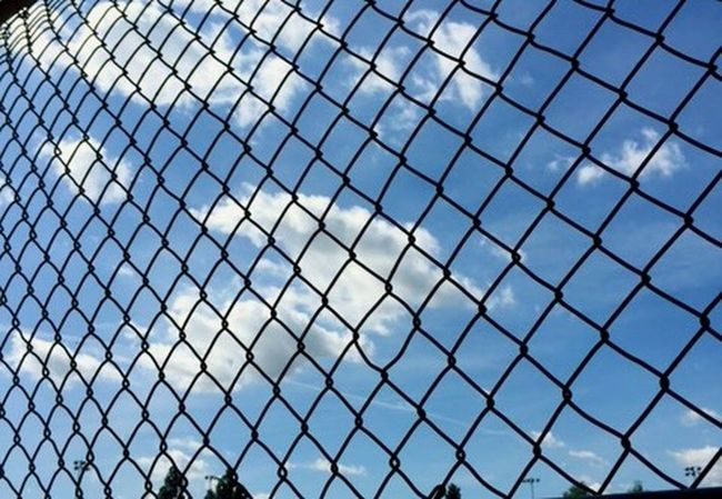 Softball Practice Dugout TrappedVisuals Long Day Hard Work Blue Skys Fenced In
