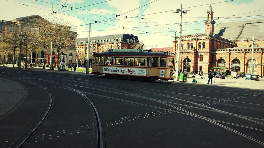Sunnyday☀️ Bremen City Old Tram Dreams Feelings Hauptbahnhof