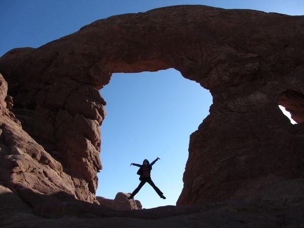 Arches National Park Bucketlist Travel Widewidewest Adventure Jumpingpic Naturalwonder Planetearth