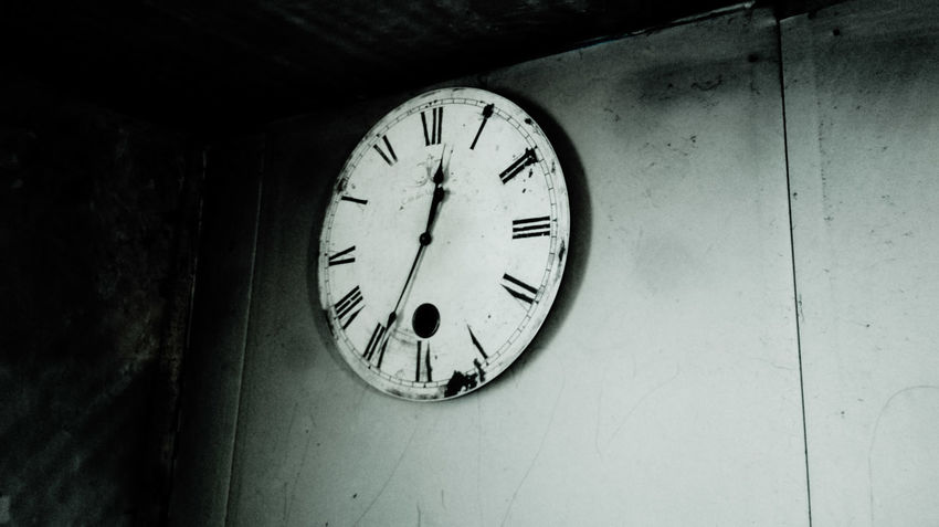 Blackandwhite Black&white Wall Clock Clock Time