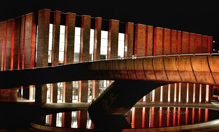 Nospr Katowicenielizbona Katowice Nigthpicture Architecture Polandarchitecture