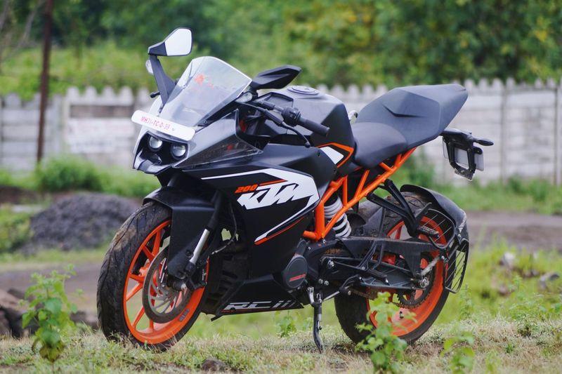 Mode Of Transport Land Vehicle Motorcycle Bike Day Ktmrc200