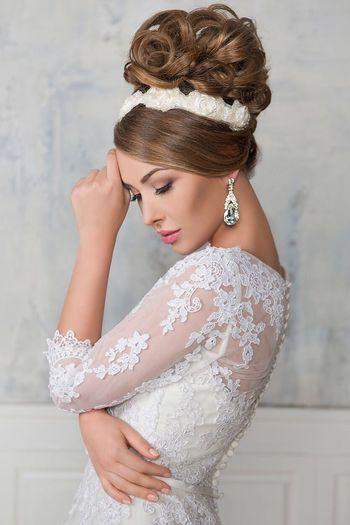 Weddingdress Wedding2015 Weddingdetails Girl Weddinghair Hairstylist Fashion Hair Novia2015 Pretty♡ Hairstyle