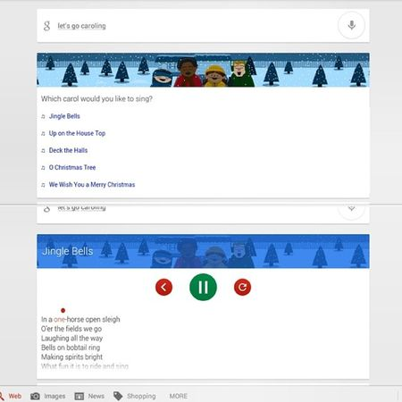 Aww Google. Favorite time of the year. Christmascheer