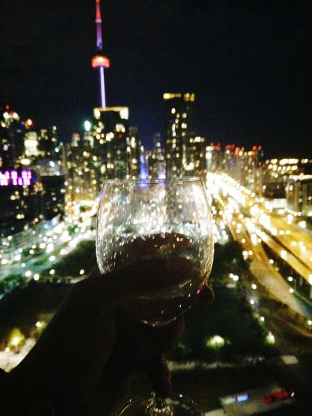 Cities At Night Viewsfromthe6 Goodlife Champagnelife TorontoLife Toronto