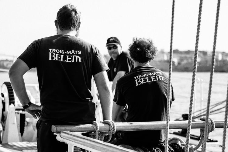 I got the chance to sail for few days aboard the French 3 mâts Belem back in the summer 2014. Such a great experience to navigate on this astonishing ship. We went from Marseilles to Nice passing through the Golden Islands. Black And White Crew Day Deck Nice Port Sail Sailboat Sailing Ship Sailor Summer The Belem