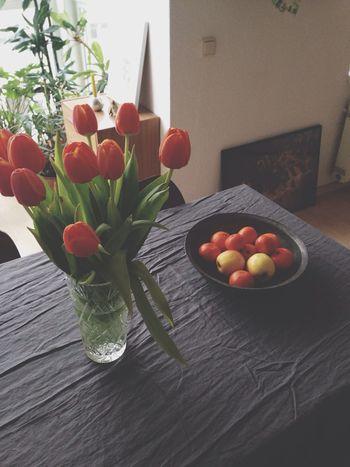 Tulips Flower Home