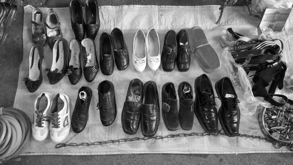 Old Shoes... Black & White