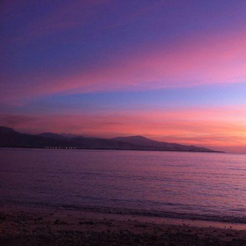 Amazing Sunset Cristurei Easttimor