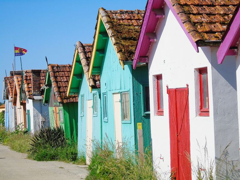 Colorful House Cabane De Pecheur Cabane Couleur Peche Colour Of Life Lanscape Landscape Nature Fishing Hut Ile D'Oleron île Bord De Mer
