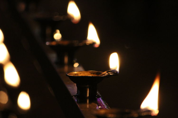 Festivals and Celebrations Canonphotography Flame Burning Heat - Temperature Oil Lamp Candle Glowing Diya - Oil Lamp Close-up No People Cultures Dark Illuminated Indoors Diwali Tea Light Night Canon_photos Canon_official Canonphotographers Canonphotopgraphy Indianphotography Indian Culture  Handmade For You
