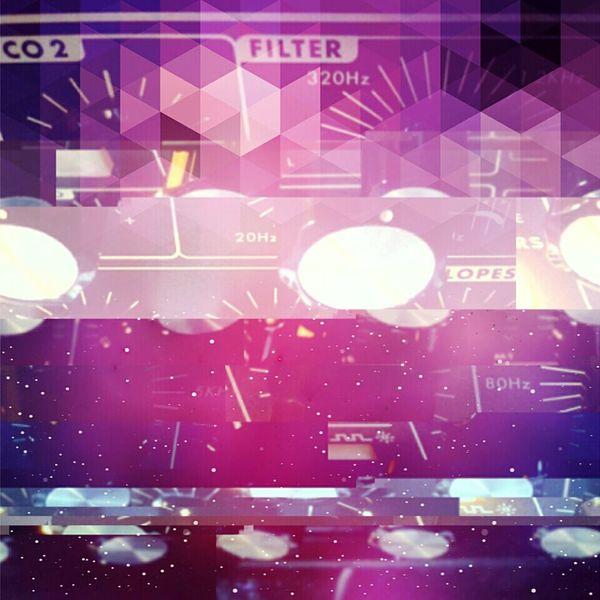 Moog BlendPic Cosmic ArtWork