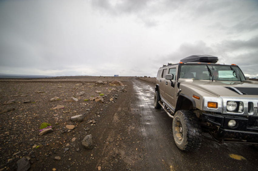 Iceland Car Transportation Outdoors Cloud - Sky Off-road Vehicle No People Day Storm Cloud Stationary Nature Sky Hummer H2 Zörk
