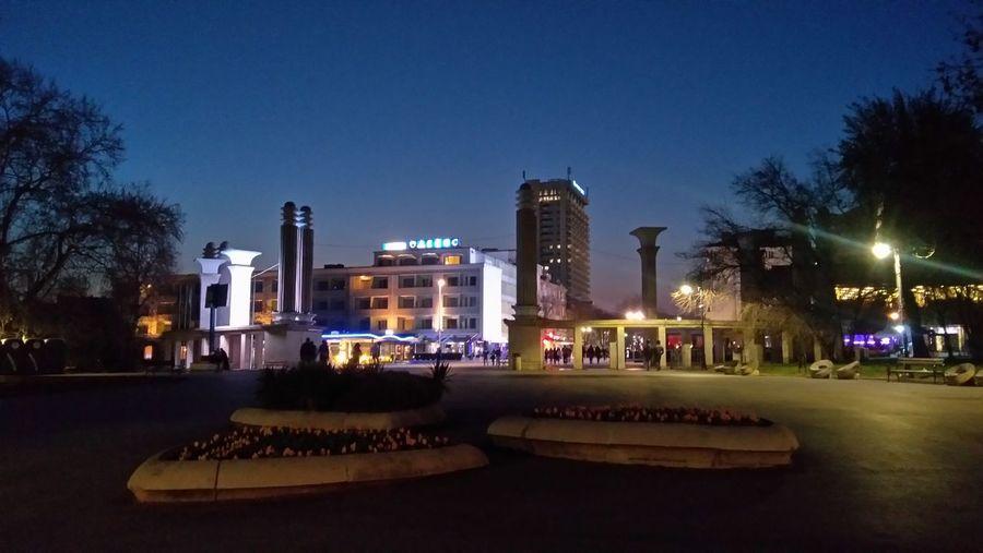 Varna at night