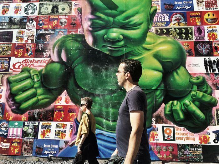 Baby Hulk The Street Photographer - 2015 EyeEm Awards Streetphotography Streetphoto_color EyeEm Best Shots - The Streets