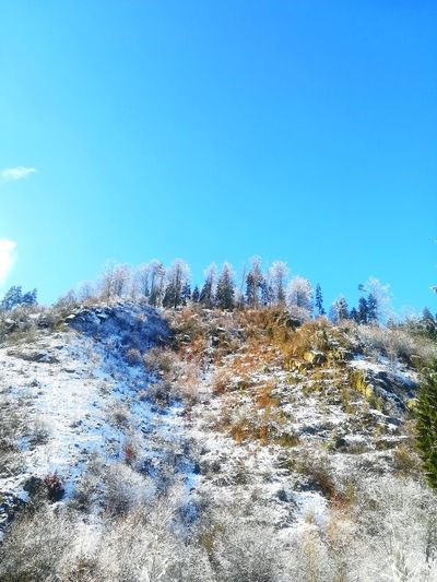 Stampfendorf Mountain in Austria Mountain Sky Day Blue Outdoors Nature Clear Sky Low Angle View