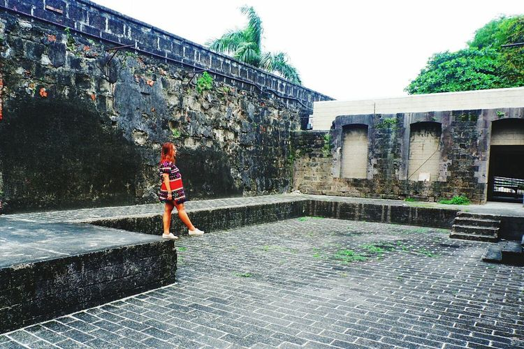 One Person One Woman Only Intramuros| Philippines Asian  Edge EyeEmNewHere Let's Go. Together. Sommergefühle EyeEm Selects