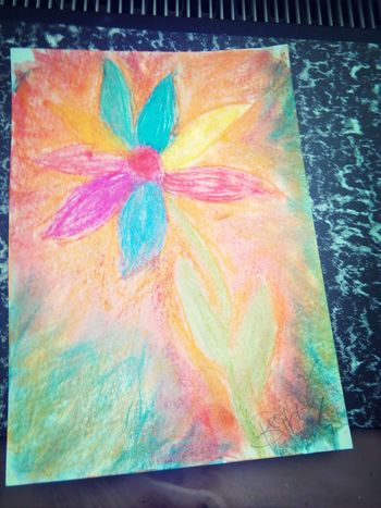 Art, Drawing, Creativity Flowers Colors Imhappy