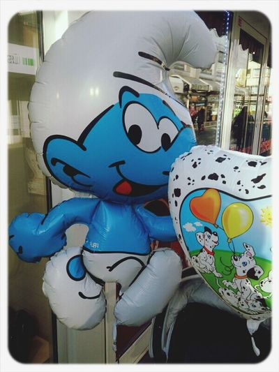 City Life Hannover Smurfs Balloons