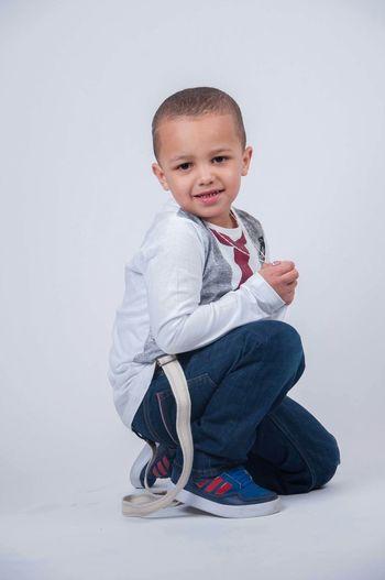 Kleine boy Fotoshooting Boy