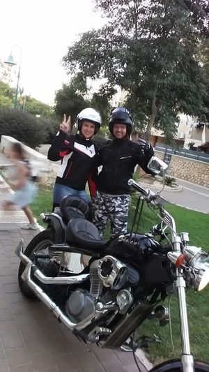 Gotoride Wit  My Lovley  Wife On Vintage Motorcycles HondaShadow 1993 Motorcycle Photography Motorcyclesofinstagram Motorcyclelifestyle Enjoying Life Ilovemotorcycles Vintagemotorcycles Israel