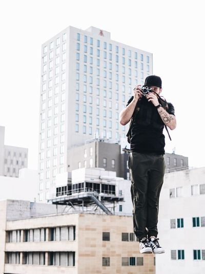 Gabe Miami Levitating Leicacamera Photographer