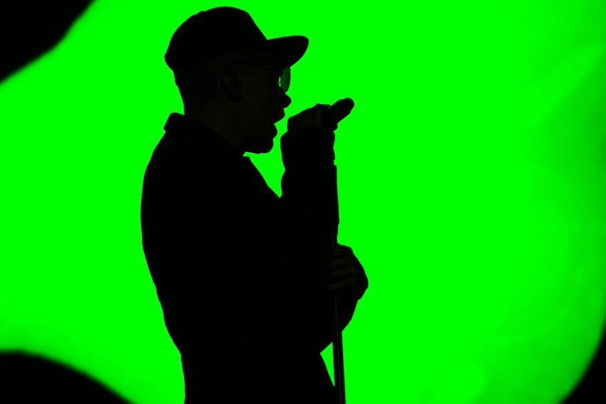 Music Bad Habit Close-up Concert Concert Photography Green Color Holding Human Hand Indoors  Lifestyles Men Music Photography  Musician One Person People Performance Real People Silhouette Young Adult