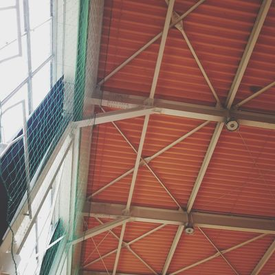 Gym ceiling Gym Ceiling Ceiling 体育館 体育館の天井 Roof Full Frame Backgrounds Pattern Architecture Built Structure Building Exterior