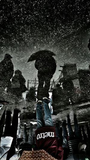 Stardust Sunday_flip Puddle Reflections Rainy Days Upsidedownit!